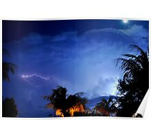 Stormy Night Sky 5 Poster