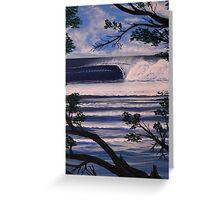 PLAYA NEGRA ,COSTA RICA Greeting Card