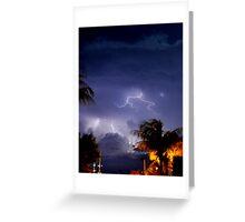 Stormy Night Sky 6 Greeting Card