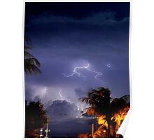 Stormy Night Sky 6 Poster