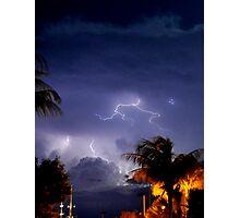 Stormy Night Sky 6 Photographic Print