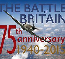 Battle of Britain poster colour version by Gary Eason + Flight Artworks