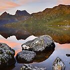 Dove Lake Dawn, Cradle Mountain, Tasmania, Australia by Michael Boniwell
