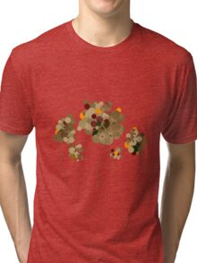Abstract Trees Tri-blend T-Shirt