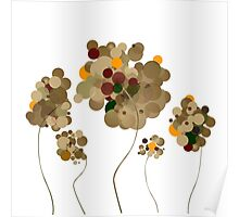 Abstract Trees Poster