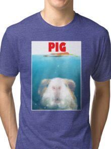 Sea Pig Tri-blend T-Shirt