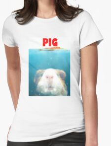 Sea Pig Womens Fitted T-Shirt