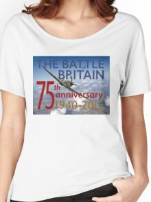 Battle of Britain poster colour version Women's Relaxed Fit T-Shirt
