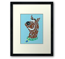 Scooby-Doo Framed Print