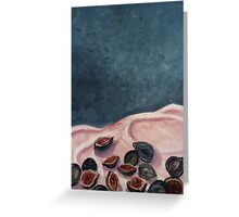Spilt Figs Greeting Card