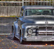 F Truck in HDR by Ricky Pfeiffer