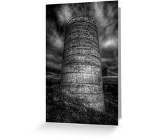 Cylindrical Gloom Greeting Card