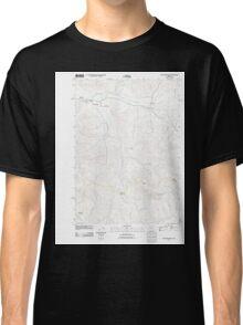 USGS Topo Map Oregon Crawfordsville 20110816 TM Classic T-Shirt