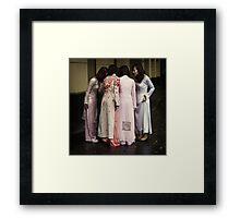 The Huddle #0101 Framed Print