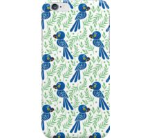 The Hyacinth Macaw Pattern iPhone Case/Skin