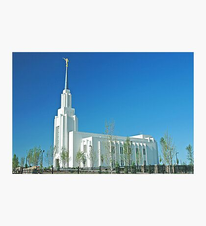 Twin Falls Idaho LDS Temple Photographic Print