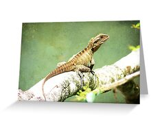 Water Dragon.... Greeting Card