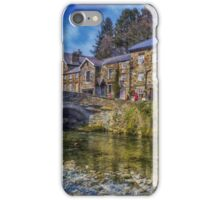 Beddgelert Village iPhone Case/Skin
