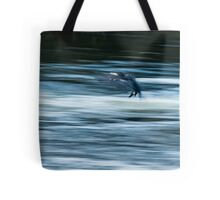 Dynamism of a Cormorant Tote Bag