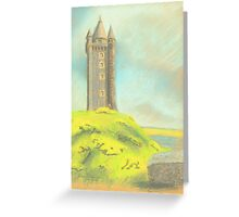 Scrabo Tower, Northern Ireland Greeting Card