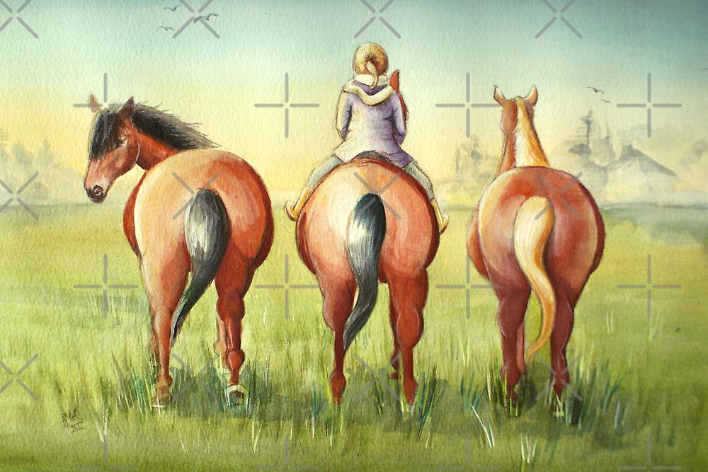 Pony Tails by Sarah  Mac