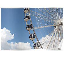 Wheel of Brisbane, Queensland Australia Poster