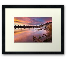 Tamar Morning Framed Print