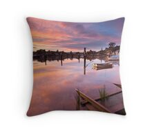 Tamar Morning Throw Pillow