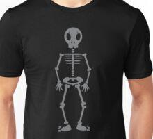 Skeleton standing cute Unisex T-Shirt