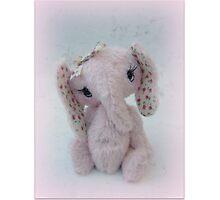 Eve  Elephant - Handmade bears from Teddy bear Orphans Photographic Print