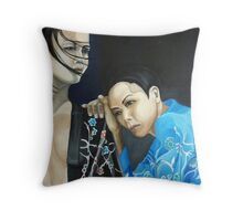 Eastern promise Throw Pillow