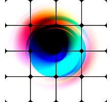 Rainbow Eyes Squared Photographic Print