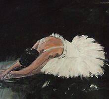 swan despair 2 by Caroline Martin