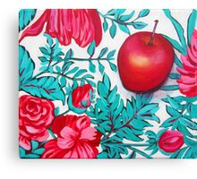 Rosy Apple Canvas Print