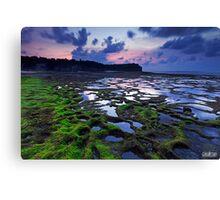 Sunset at Pantai Balangan Canvas Print