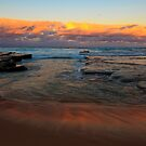 Turimetta sunset by Doug Cliff