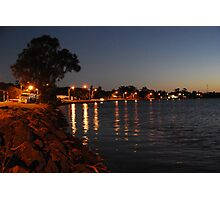 Chinderah Lights Photographic Print