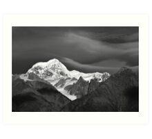 mt tasman  fox glacier  south westland  nz Art Print