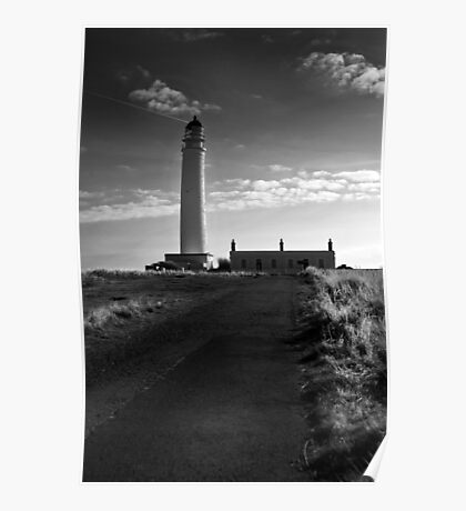 Brans Ness Lighthouse Poster