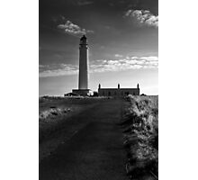 Brans Ness Lighthouse Photographic Print