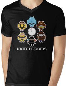 Watchdroids Mens V-Neck T-Shirt