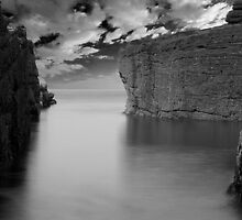 sea and rocks by KWTImages