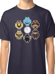 Watchdroids (no text) Classic T-Shirt