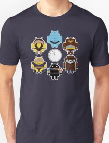 Watchdroids (no text) Unisex T-Shirt