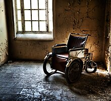 The Abandoned Wheelchair by geirkristiansen