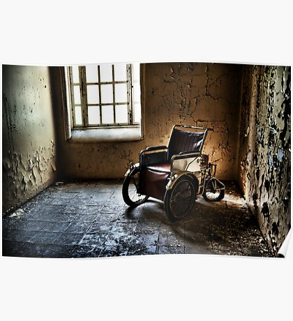 The Abandoned Wheelchair Poster