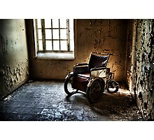 The Abandoned Wheelchair Photographic Print