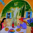 Un petit coin de paradis en provence by Rusty  Gladdish