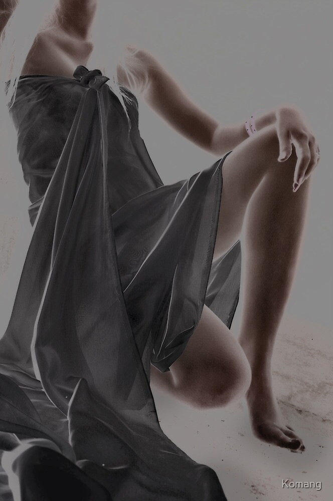 Wrapped In Cloth by Komang