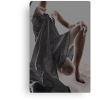 Wrapped In Cloth Canvas Print